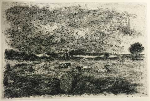 Etching 2015 first state